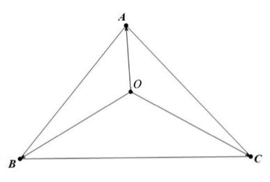 """如何学好高中数学-利用""""奔驰定理""""加快解题速度: 例题解析"""
